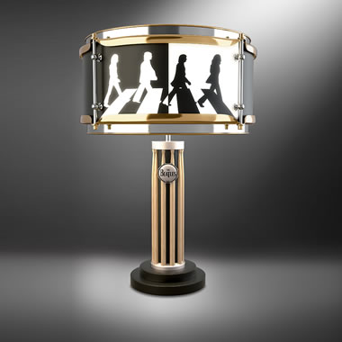 The Beatles Abbey Road Drum Lamp