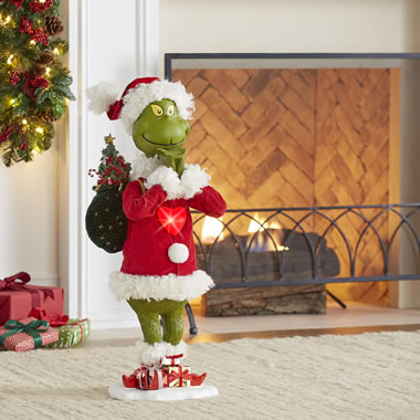 The Lighted Repentant Grinch