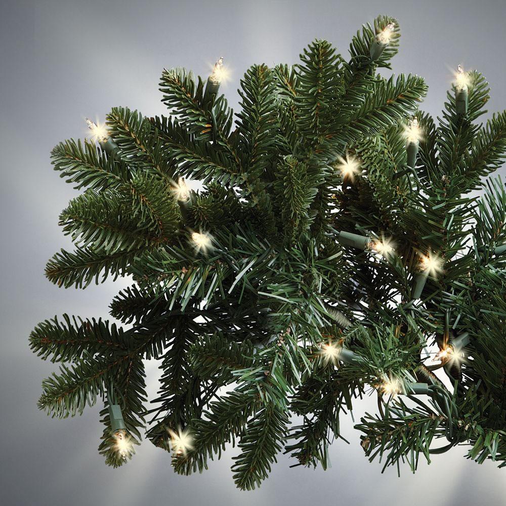 The World\'s Best Prelit Noble Fir (LED Lights) - Hammacher Schlemmer