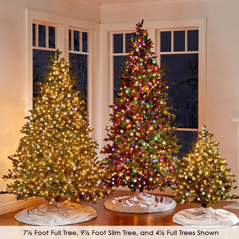 the worlds best prelit noble fir led lights full slim and
