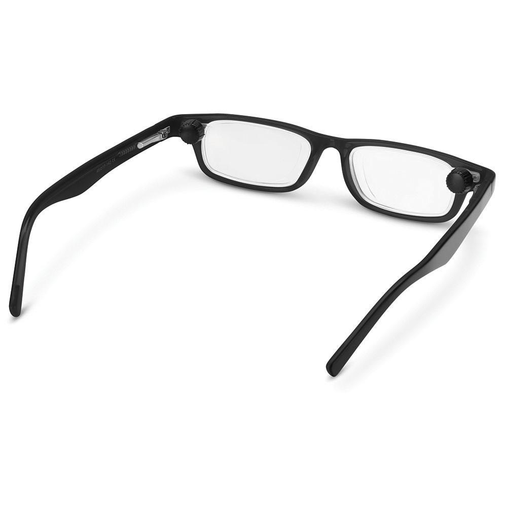 14894506ace The Adjustable Focus Reading Glasses - Hammacher Schlemmer