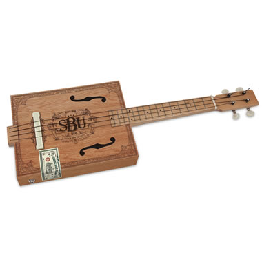 The Cigar Box Electric Ukulele