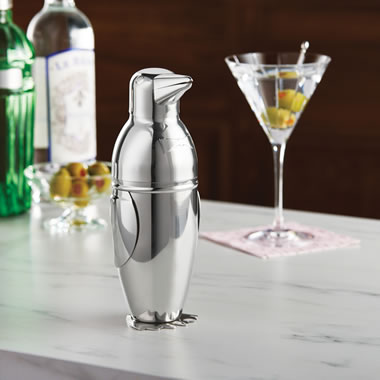 The Speakeasy Penguin Shaker