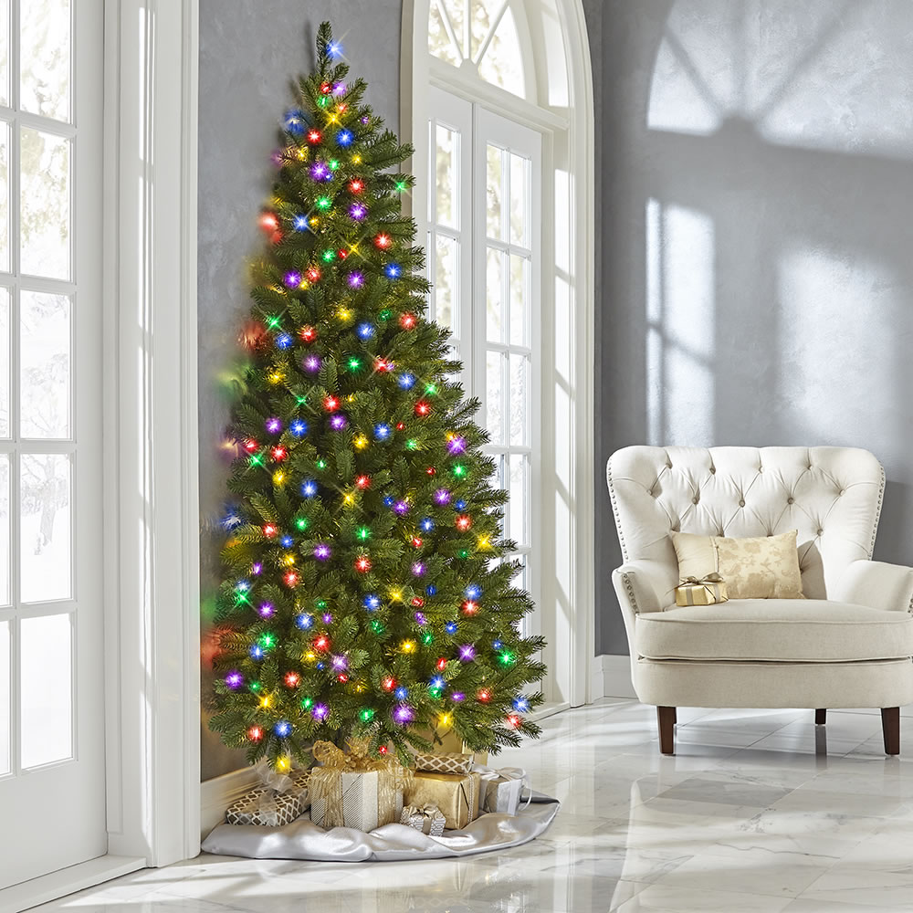 The Against Wall Christmas Tree2