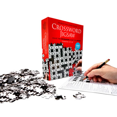 The Crossword Puzzle Jigsaw Puzzle