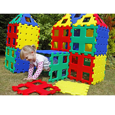 The Giant Polydron Fort Kit