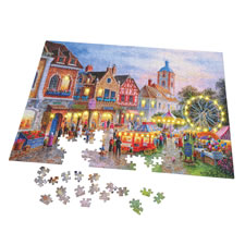 The 500 Piece Illuminated Jigsaw Puzzle
