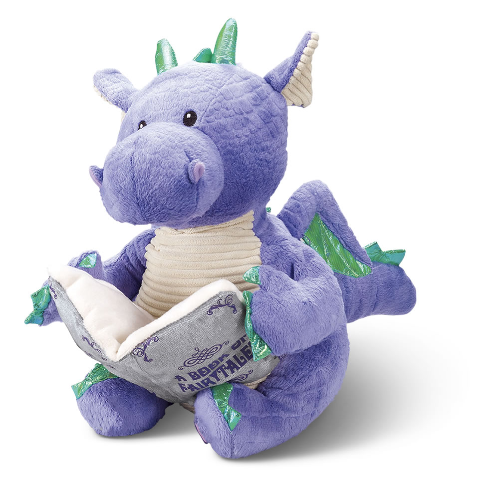 ee65fc78ba8 The Animated Fairy Tale Reading Dragon - Hammacher Schlemmer