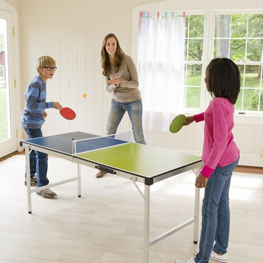 The Foldaway Table Tennis Game