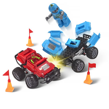 Crash And Rebuild Monster Trucks