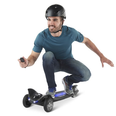 The Autobalancing Electric Skateboard