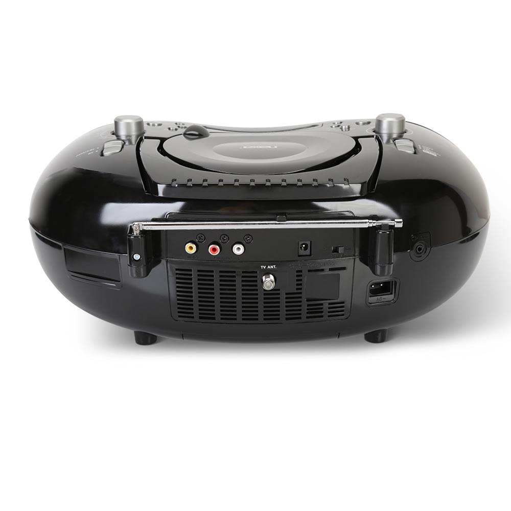 Bluetooth DVD And TV Boombox - Hammacher Schlemmer