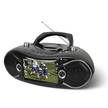 The Bluetooth DVD And TV Boombox