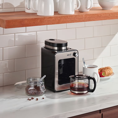 The Compact Grind And Brew Coffee Maker