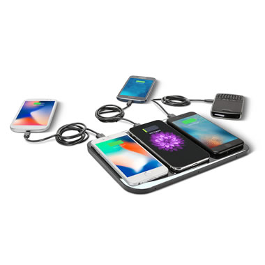 6 Device Wireless Charging Station