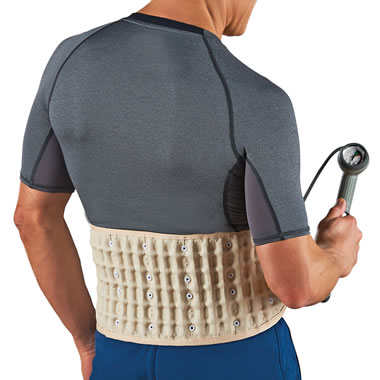The Lumbar Disc Decompression Belt