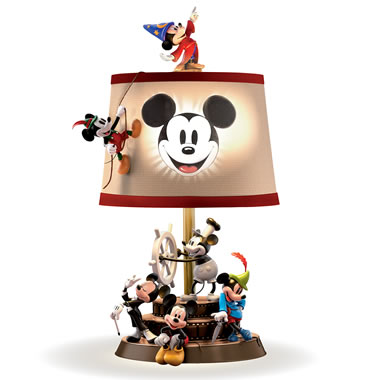 The Mickey Through The Years Table Lamp