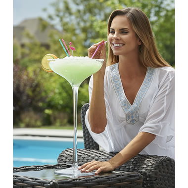 The Giant Margarita Glass