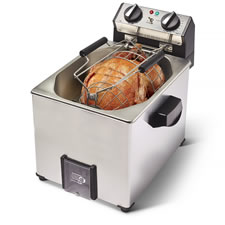 The Best Indoor Rotisserie Turkey Fryer