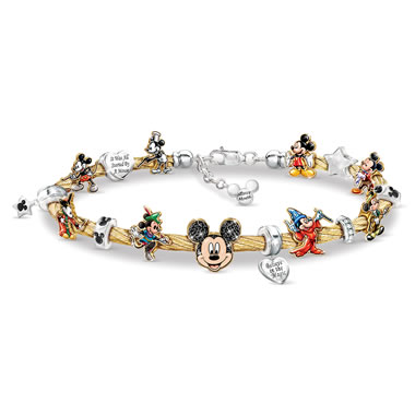 The Mickey's Greatest Moments Cable Bracelet
