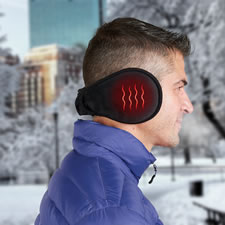 The Rechargeable Heated Ear Warmers