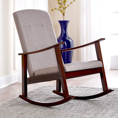 The High Back Comfortable Rocker