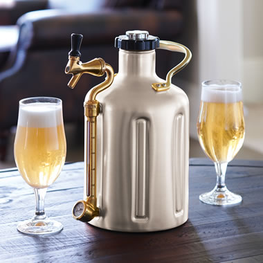 The Maximum Freshness Pressurized Growler