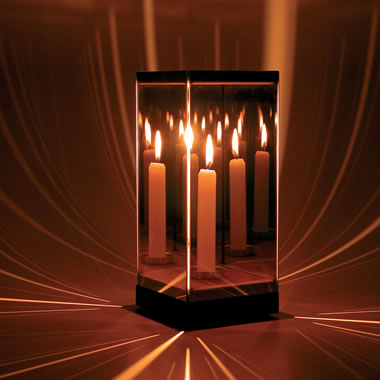The Flame Of Infinity Candle