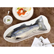 The Traditional Scottish Salmon Serving Platter
