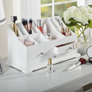 The Complete Cosmetics Organizer