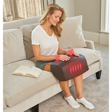 The Both Knees Heated Compression Massager