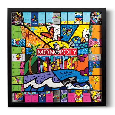 Limited Edition Britto Miami Monopoly