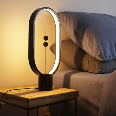 The Magnetic Balance Lamp