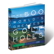 """This is the pictorial list of the 500 World's Greatest Golf Holes, as chosen by the editors of GOLF magazine and an international panel of experts. More than six hundred lavish photographs complement anecdotal """"biographies"""" and vital statistics of legendary holes from around the globe, such as the thirteenth at Augusta National, the eleventh at St. Andrews Old Course, and the fifth at Pinehurst. A special section offers Best-of-the-Best lists by category, such as the most scenic, longest, best in Europe, and hardest-to-putt greens. Paperback, 456 pages. 9 3/4"""" H x 9 3/4"""" W x 1"""" D. (4 lbs.)"""