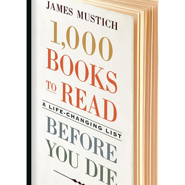 1000 Books To Read Before You Die - Cover