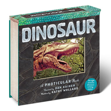 Phototicular Dinosaur Book