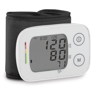 Superiror Wrist Blood Pressure Monitor White