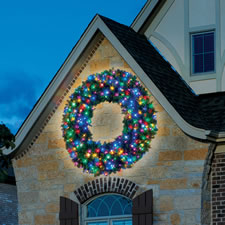 "The 60"" Prelit Ultrabright LED Wreath"