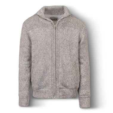 The Fleece Lined Heathered Wool Jacket