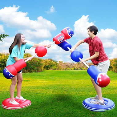 Inflatable Jousting Competition