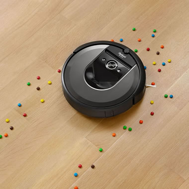 The Roomba i7 App And Voice Controlled Robotic Vacuum