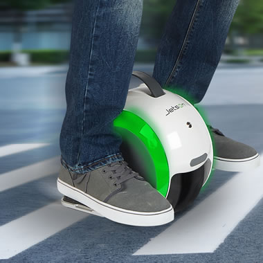 The Dual Wheel Gyroscopic Scooter