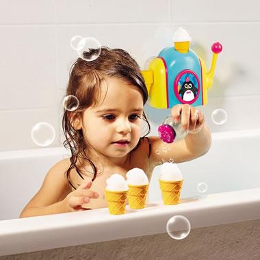 The Foam Cone Bubble Bath Toy