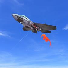 The Six Foot F-35 Kite