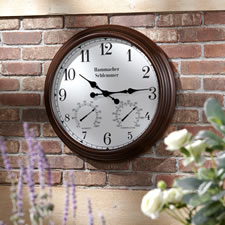The Easy Read Outdoor Atomic Clock