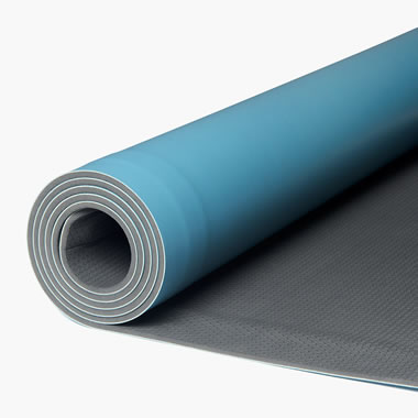 Self Rolling Wide Yoga Mat