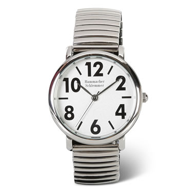 The Gentleman's Easy Read Stainless Steel Wristband Watch