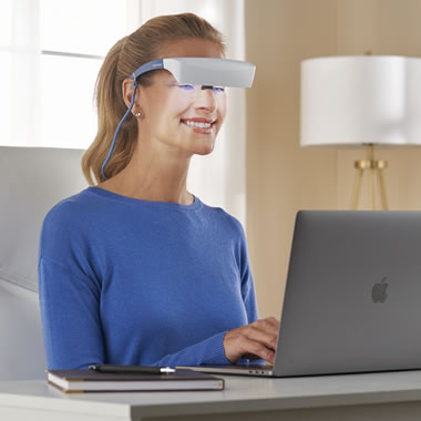 The World's First Light Therapy Visor