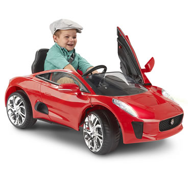 The Children's Ride on Jaguar Convertible