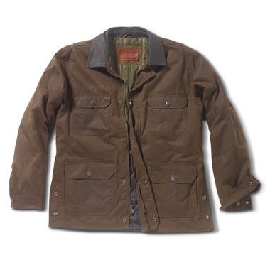 The Drover's Insulated Oilskin Jacket